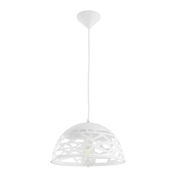 Pendelleuchte Arjeta - Weiß, MODERN, Metall (30/120cm) - Bessagi Home