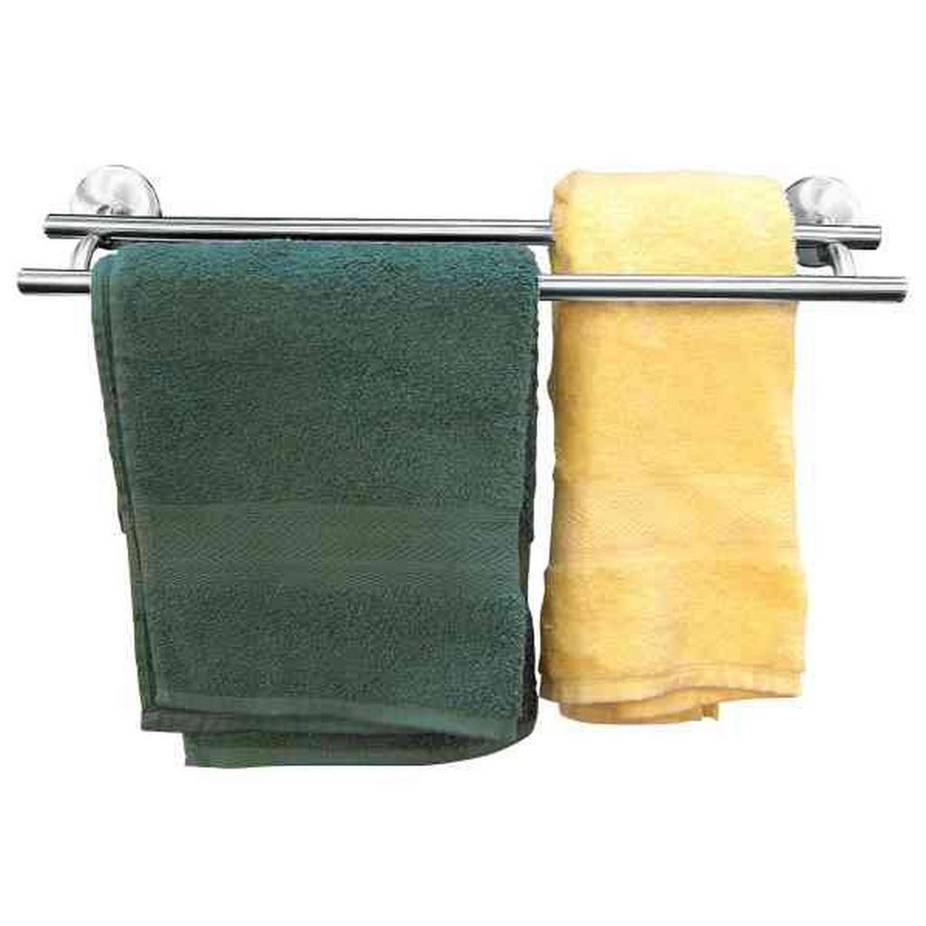 Handtuchhalter in Chromfarben