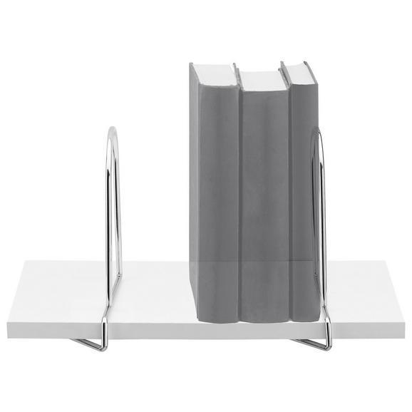 Könyvtámasz 2db Fém Büstü - Króm, Fém (17,5/5,5cm) - Mömax modern living