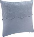Kissen Pia ca.50x50cm in Blau-grau - Blau/Grau, ROMANTIK / LANDHAUS, Textil (50/50cm) - Mömax modern living