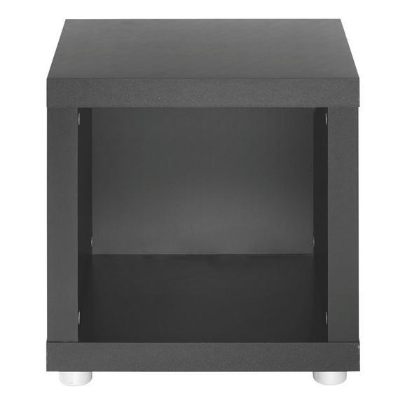 Raumteiler Schwarz - (44/46/35cm) - Mömax modern living