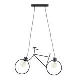 Hängeleuchte Bike, max. 40 Watt - Schwarz, LIFESTYLE, Metall (77,5/122cm) - Mömax modern living