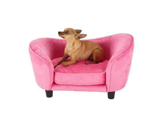 Hundesofa Doggie - Pink, Textil (67,3/40,6/40,6cm) - Mömax modern living