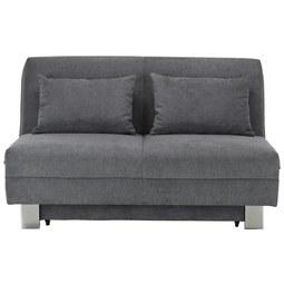 Schlafsofa in Grau - Grau, Textil (144/88/97cm) - Premium Living