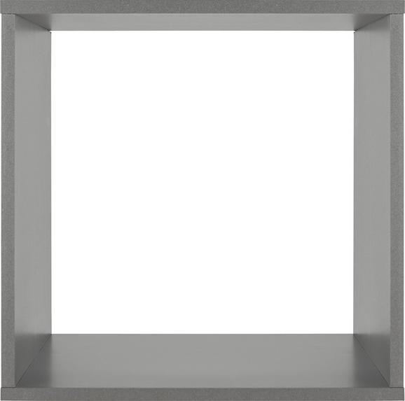 Vstavek Za Regal Aron/space - grafit, Basics, leseni material (35/35/33cm)
