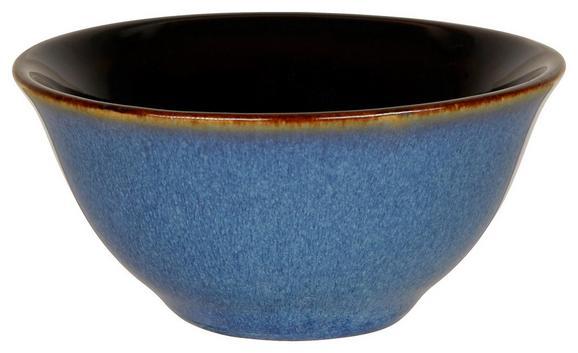 Dipschale Uri in Blau - Blau, LIFESTYLE, Keramik (8/3,8cm) - Mömax modern living
