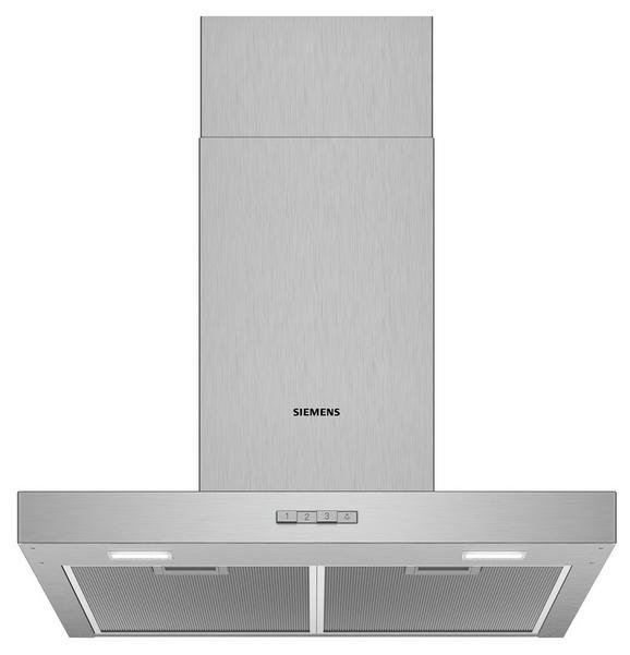Dunstabzugshaube Siemens Lc64bbc60 Edelstahl - Edelstahlfarben, Metall (60/64-97/50cm) - Siemens