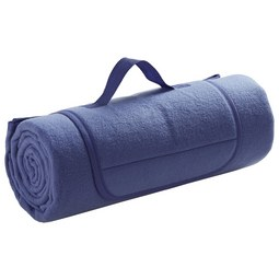 Picknickdecke Uni in Blau ca. 125x150cm - Blau, Textil (125/150cm) - Mömax modern living