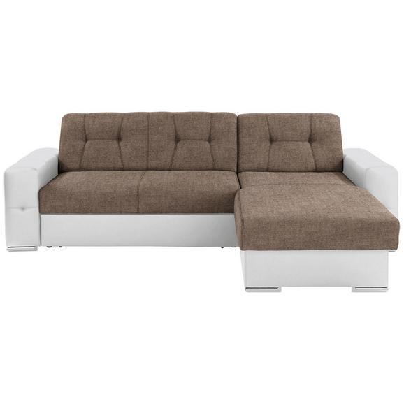 Sjedeća Garnitura Fulton - bijela/boje kroma, Basics, plastika (260/160cm)
