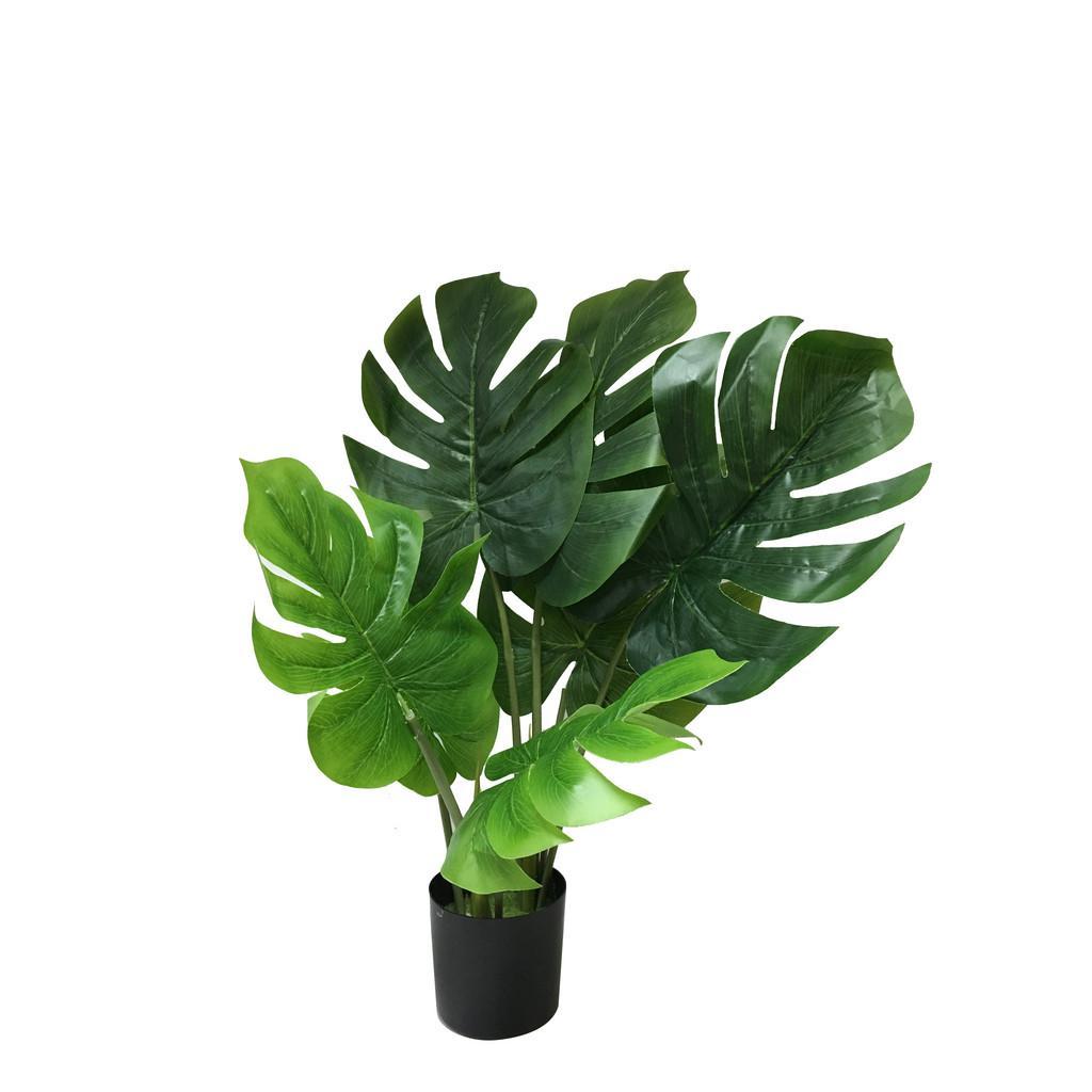 Kunstpflanze Splitphilo Grün