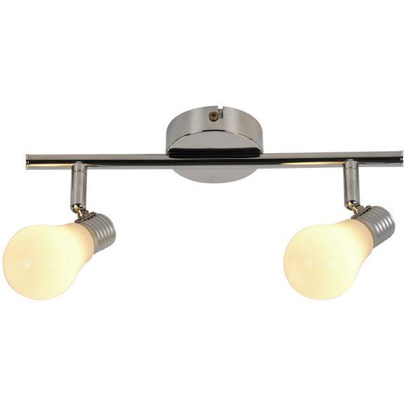 Deckenleuchte Bahar max. 3 Watt - Weiß, ROMANTIK / LANDHAUS, Kunststoff/Metall (29cm) - Modern Living