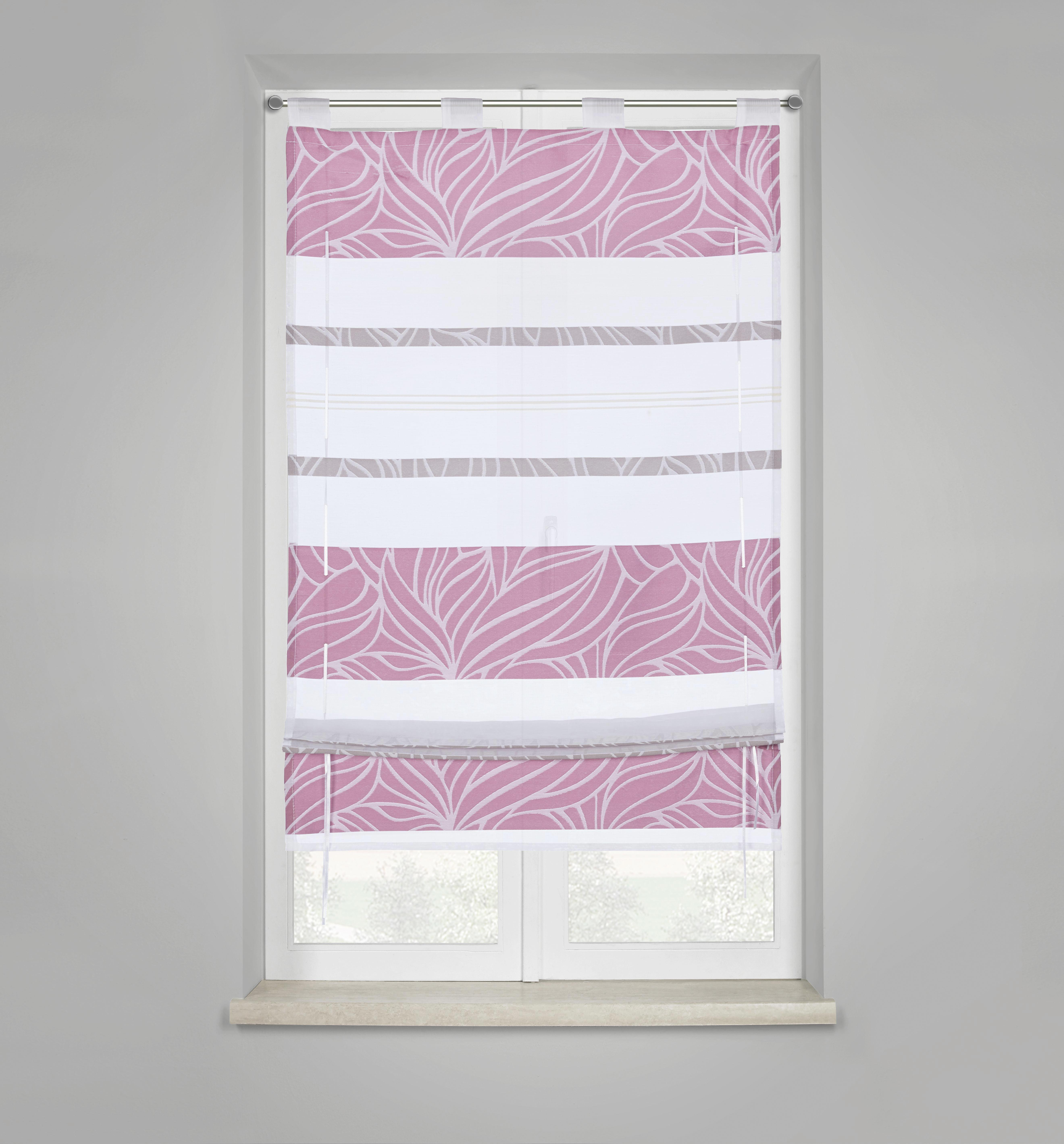 Bändchenrollo Anita, ca. 60x140cm - Lila, KONVENTIONELL, Textil (60/140cm) - MÖMAX modern living