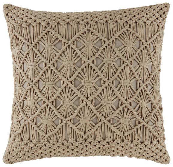 Okrasna Blazina Grace - bež, Moderno, tekstil (45/45cm) - MÖMAX modern living