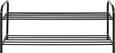 Schuhregal Schwarz - Schwarz, Metall (93/38/35cm) - Mömax modern living