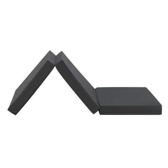 Összecsukható Matrac Fekete Anna - Fekete, Textil (65/186cm)
