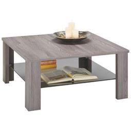 Couchtisch Glas Grau - Grau, MODERN, Holzwerkstoff (90/42/90cm) - Premium Living