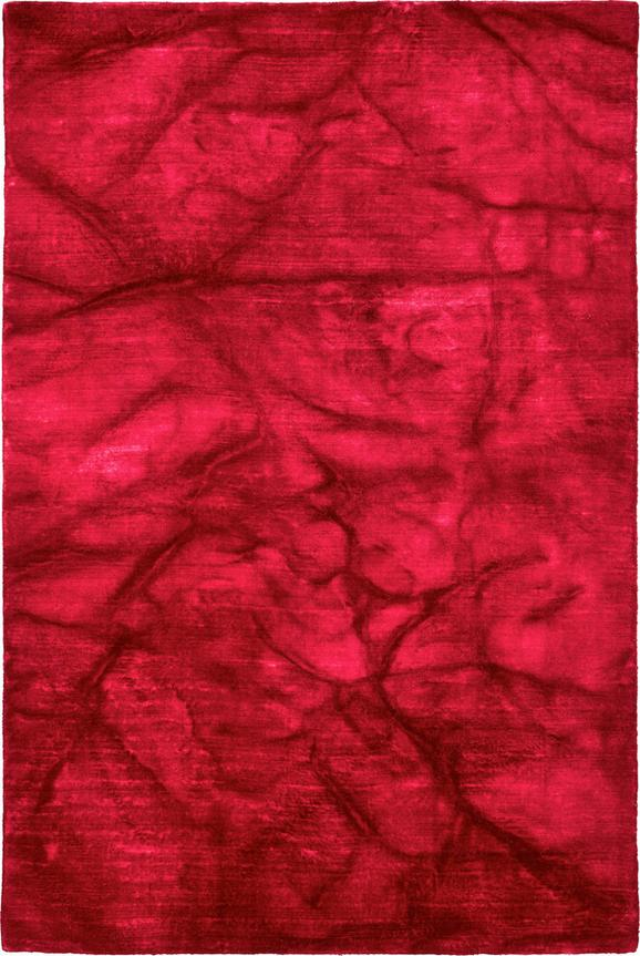 Handwebteppich Stone in Pink, ca. 160x230cm - Pink, Textil (160/230cm) - MÖMAX modern living