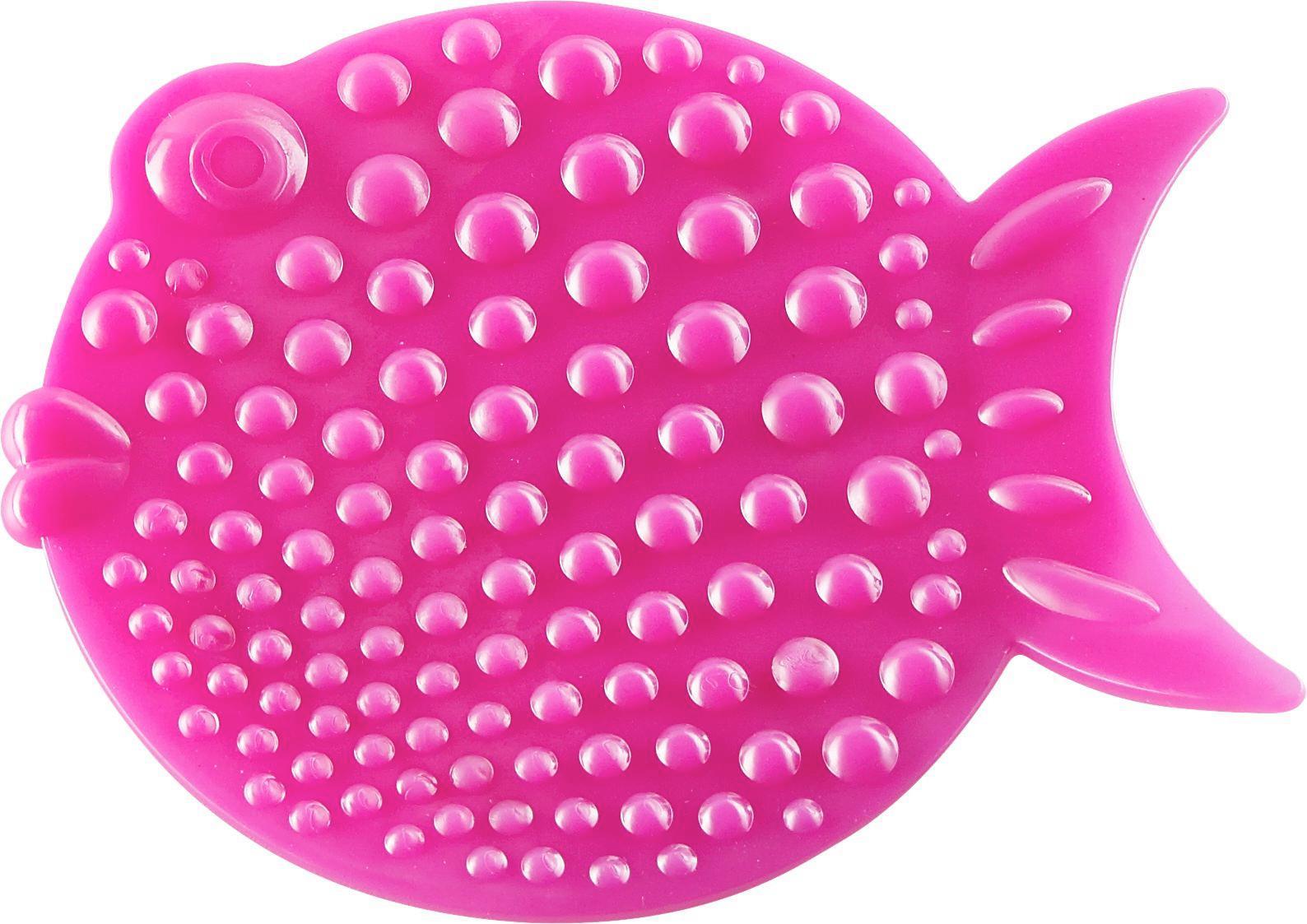Badewanneneinlage in Pink - Pink, Kunststoff (12,5/12,5cm) - MÖMAX modern living