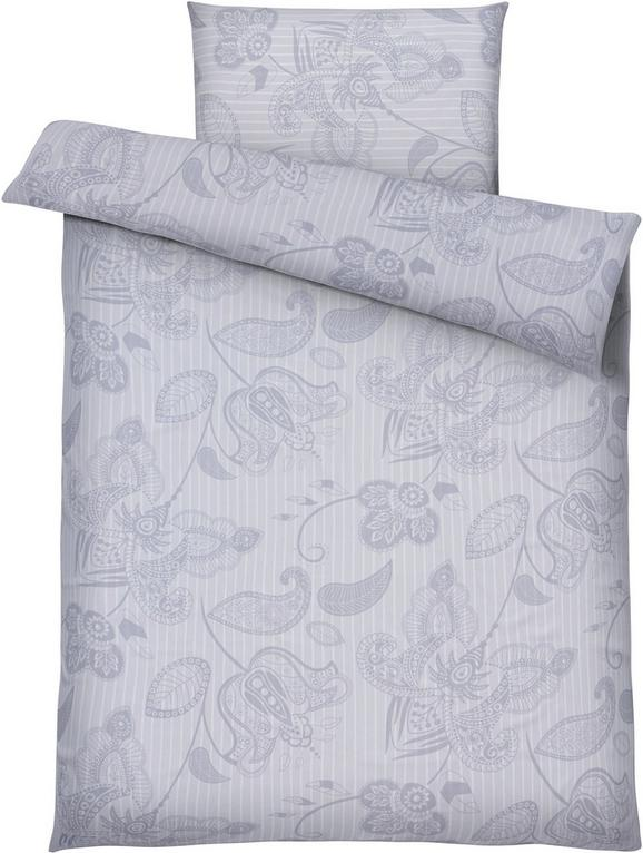 Bettwäsche Marietta, ca. 135x200cm - Grau, Textil (135/200cm) - MÖMAX modern living