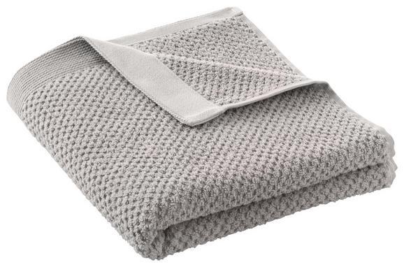 Handtuch Juliane Taupe - Taupe, Textil (50/100cm) - PREMIUM LIVING