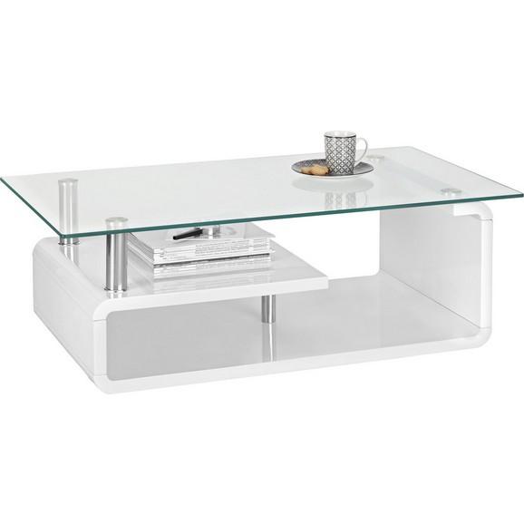 couchtisch wei hochglanz glas online kaufen m max. Black Bedroom Furniture Sets. Home Design Ideas