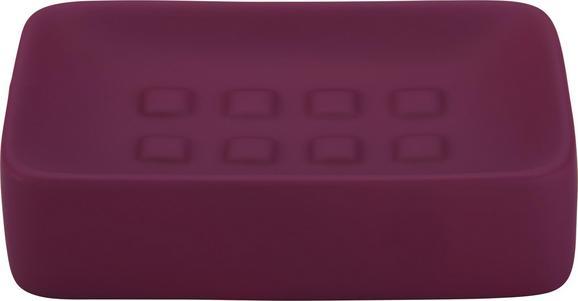 Seifenschale Melanie In Fuchsia - Lila, Keramik (8,3/12,5cm) - Mömax modern living