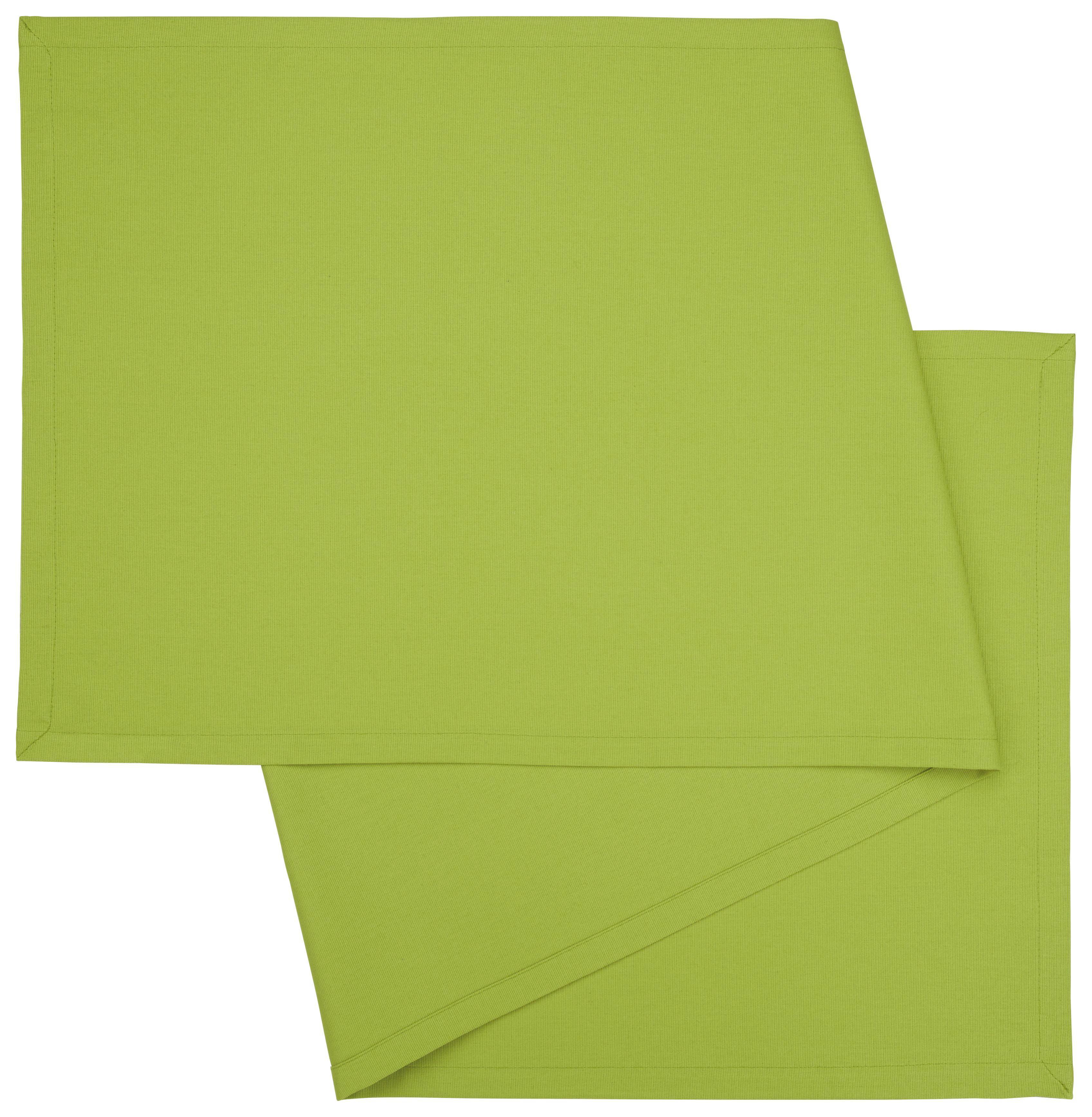 Asztali Futó Steffi Neu - zöld, textil (45/150cm) - MÖMAX modern living
