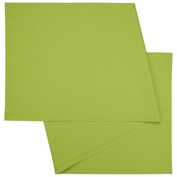 Nadprt Steffi - zelena, tekstil (45/150cm) - Mömax modern living