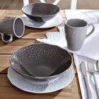 Frühstücksset persian 3-tlg. - Hellgrau/Braun, Keramik - MÖMAX modern living