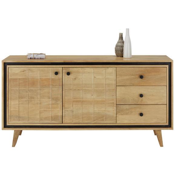 sideboard braun online kaufen m max. Black Bedroom Furniture Sets. Home Design Ideas