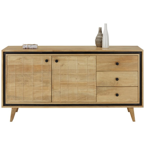 sideboard in braun online kaufen m max. Black Bedroom Furniture Sets. Home Design Ideas