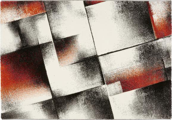 Tkana Preproga Mirano 3 - rdeča, tekstil (160/230cm) - MÖMAX modern living