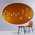 Pendelleuchte Mariba - Kupferfarben, MODERN, Glas/Metall (30/120cm) - Bessagi Home
