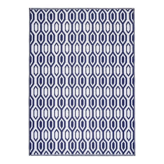 Kültéri Szőnyeg Florida 120/170 - Kék, Basics, Textil (120/170cm) - Mömax modern living