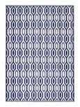 Outdoorteppcih Florida in Blau ca. 120x170 cm - Blau, Basics, Textil (120/170/cm) - Mömax modern living