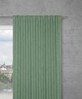 Fertigvorhang Leo in Olivgrün, ca. 135x255cm - Olivgrün, Textil (135/255cm) - Premium Living