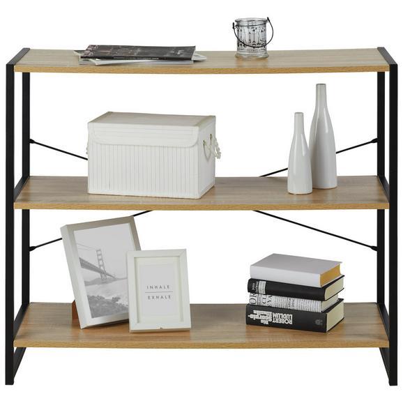 regal eiche metall schwarz ikearegalspace. Black Bedroom Furniture Sets. Home Design Ideas