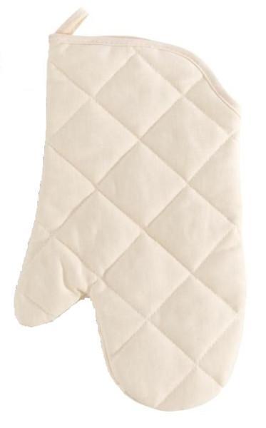 Topfhandschuh Evelin Natur Baumwolle - Grün, Textil (19/30cm) - Mömax modern living