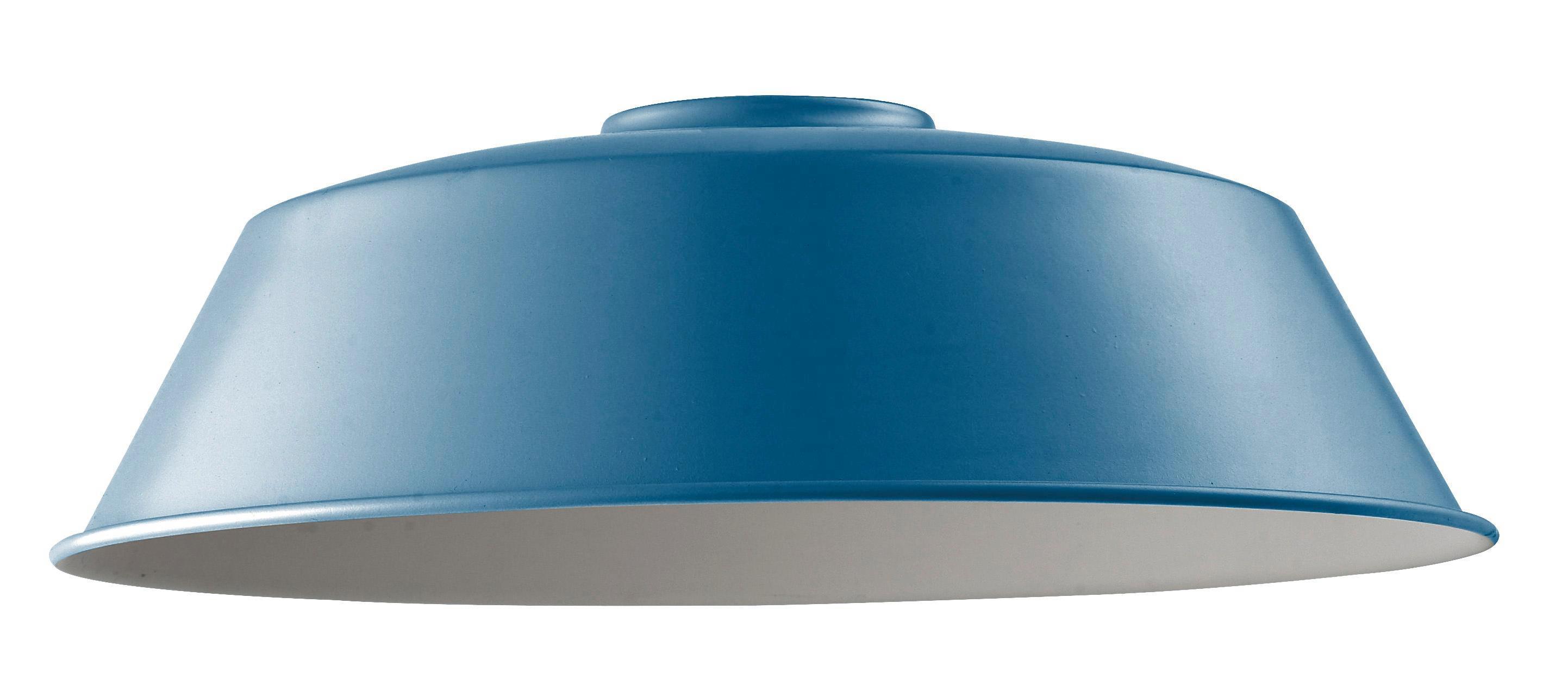 Leuchtenschirm Felix in Blau - Blau, Metall (36/36/18cm) - MÖMAX modern living