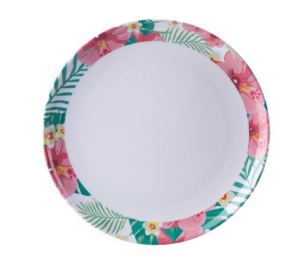 Teller Magali S in Bunt - Multicolor, Kunststoff (20cm) - Mömax modern living