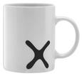 Kaffeebecher Mömax 4 You aus Porzellan - Schwarz/Weiß, Keramik (8/9,5cm) - Mömax modern living