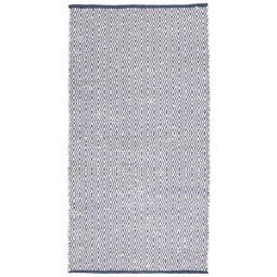 Handwebteppich Carmen in Blau ca. 80x150cm - Dunkelblau, Textil (80/150cm) - Mömax modern living