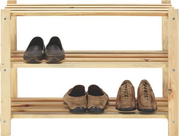 Schuhregal In Fichte - Fichtefarben, Holz (75/55/30cm) - Mömax modern living