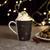 Kaffeebecher aus Porzellan 300 ml ''X-Mas'' - Weiß/Grau, KONVENTIONELL, Keramik - Vivo