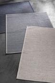 Flachwebeteppich Jan 1 Dunkelblau 90x200cm - Dunkelblau, MODERN, Textil (80/200cm) - Mömax modern living