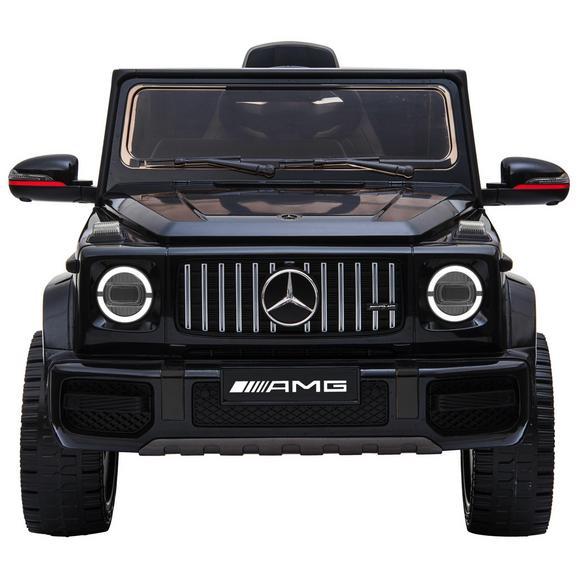 Spielfahrzeug Mercedes Benz max. 40 Watt - Schwarz, MODERN, Kunststoff (110/69/56,5cm)