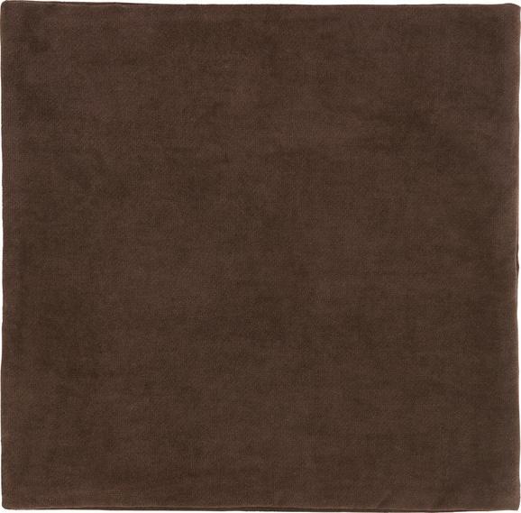 Prevleka Blazine Marit - temno rjava, tekstil (40/40cm) - Mömax modern living
