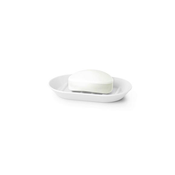 Savonieră Lilo - alb, Modern, plastic (14,6/9,22/1,90cm) - Modern Living