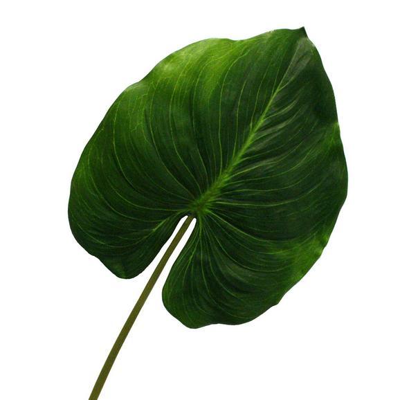 Dekoráció Cannablatt - Zöld, Műanyag (36/85cm) - MÖMAX modern living