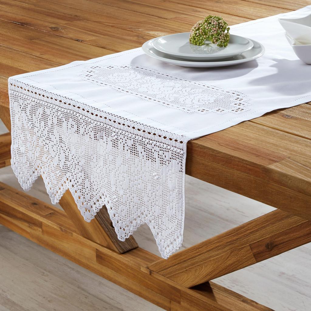Tischdecke Jasmin ca.50x150 cm